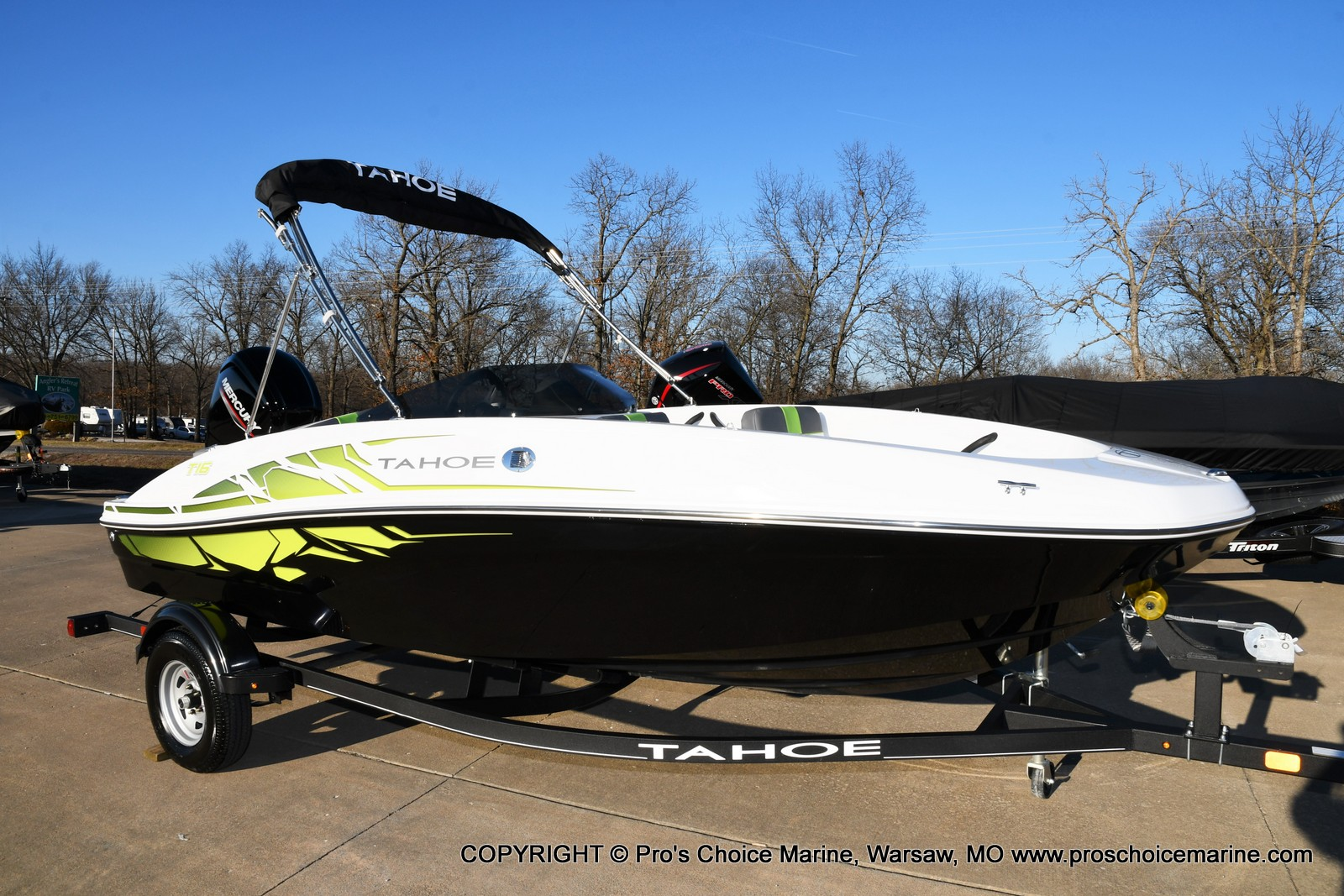 2021 Tahoe boat for sale, model of the boat is T16 w/75HP Mercury 4 Stroke & Image # 15 of 45