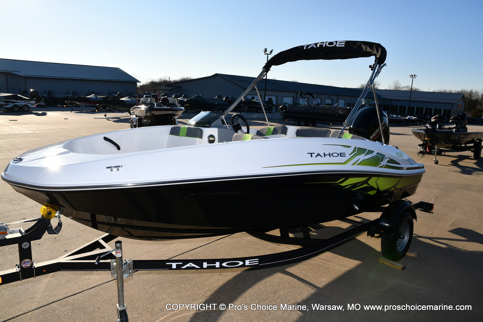2021 Tahoe boat for sale, model of the boat is T16 w/75HP Mercury 4 Stroke & Image # 16 of 45