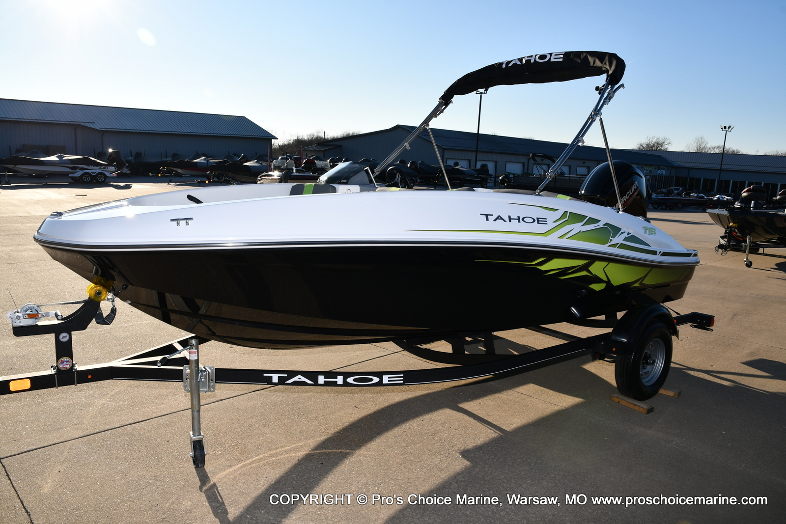 2021 Tahoe boat for sale, model of the boat is T16 w/75HP Mercury 4 Stroke & Image # 17 of 45