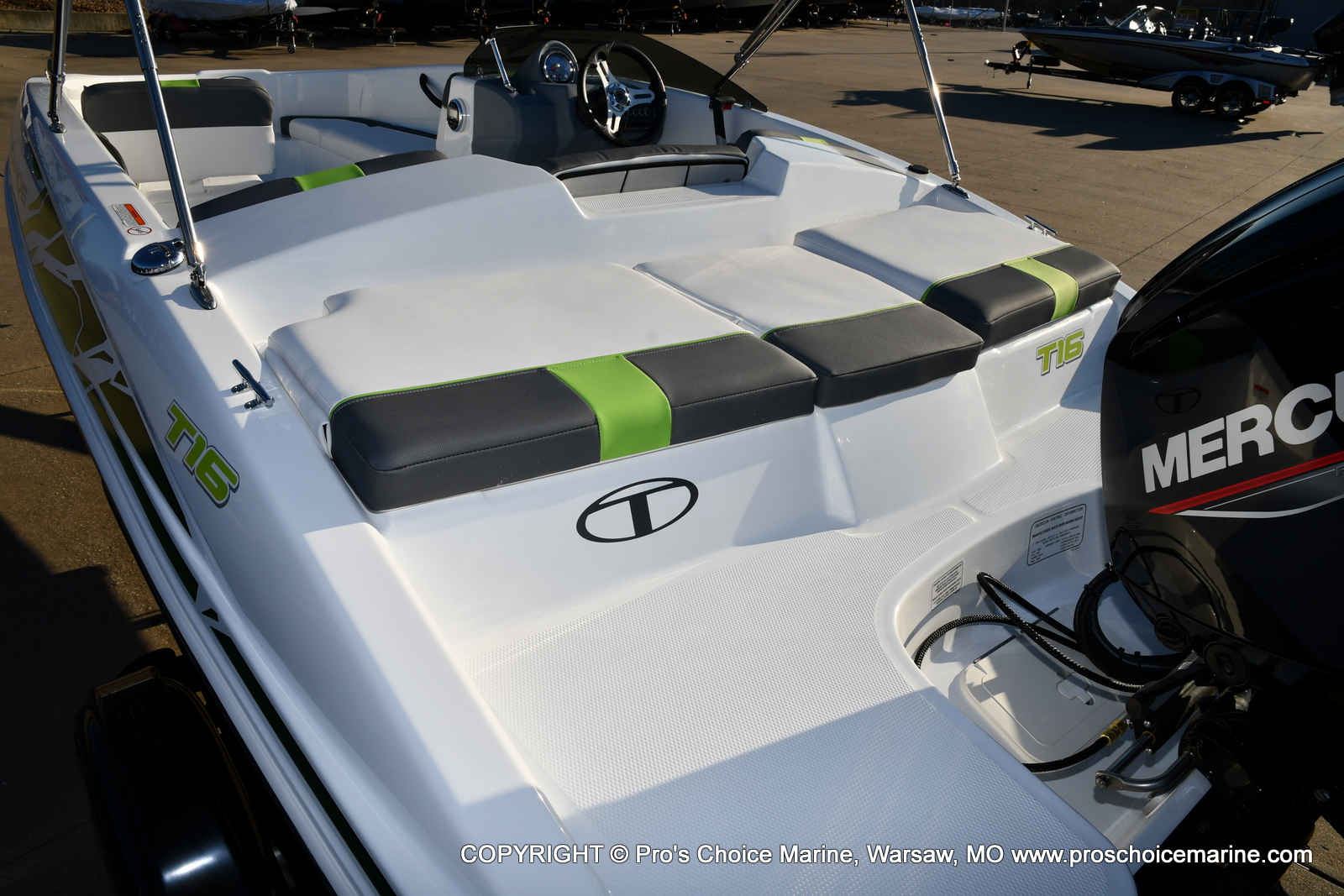 2021 Tahoe boat for sale, model of the boat is T16 w/75HP Mercury 4 Stroke & Image # 18 of 45