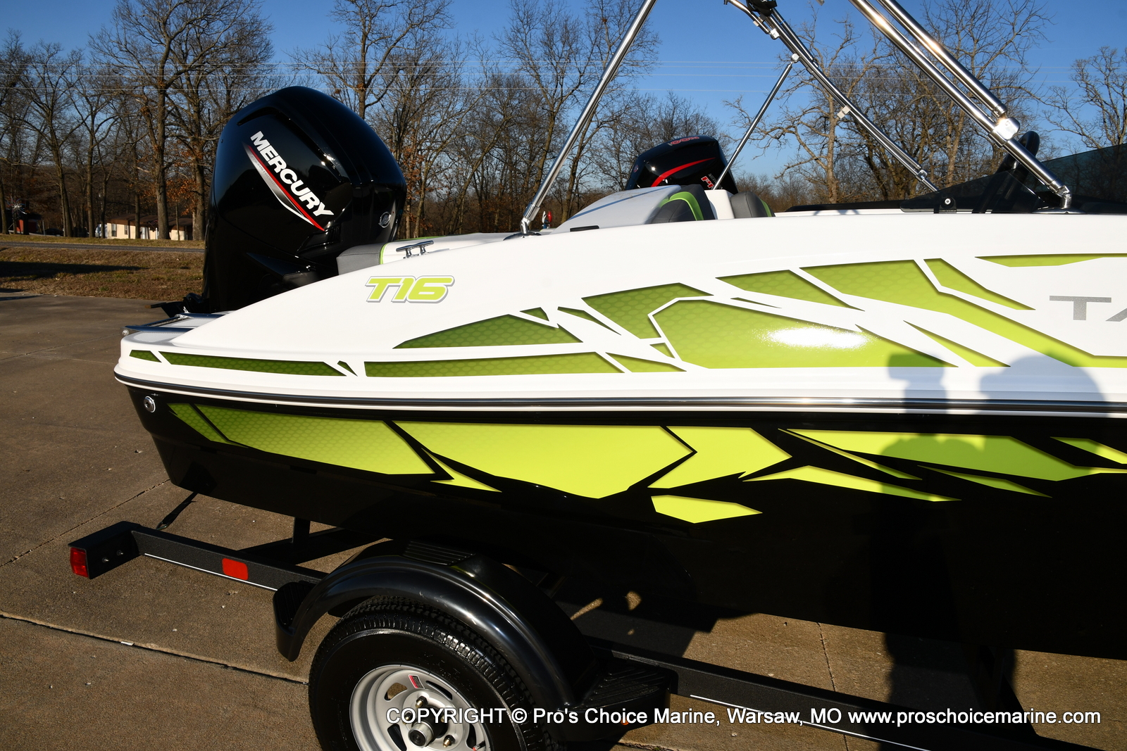 2021 Tahoe boat for sale, model of the boat is T16 w/75HP Mercury 4 Stroke & Image # 40 of 45