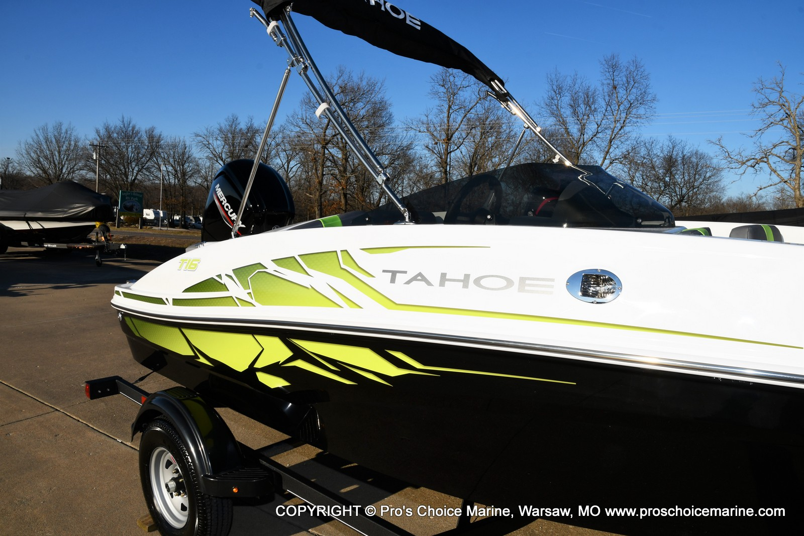 2021 Tahoe boat for sale, model of the boat is T16 w/75HP Mercury 4 Stroke & Image # 32 of 45