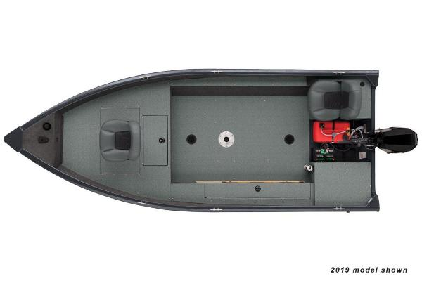 2020 Tracker Boats boat for sale, model of the boat is Guide V-16 Laker DLX T & Image # 31 of 32