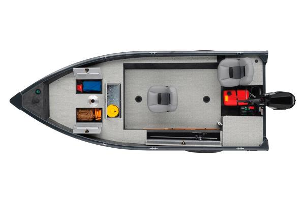 2020 Tracker Boats boat for sale, model of the boat is Guide V-16 Laker DLX T & Image # 33 of 34