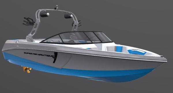 2021 Nautique boat for sale, model of the boat is Super Air Nautique 230 & Image # 49 of 53