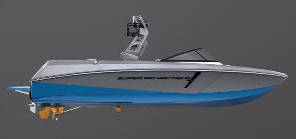 2021 Nautique boat for sale, model of the boat is Super Air Nautique 230 & Image # 50 of 53