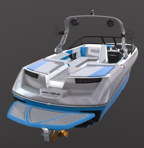 2021 Nautique boat for sale, model of the boat is Super Air Nautique 230 & Image # 51 of 53