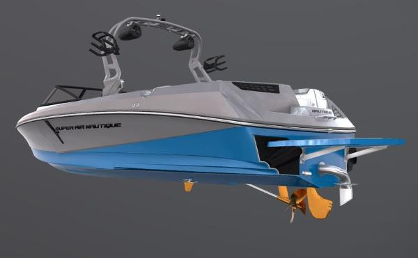 2021 Nautique boat for sale, model of the boat is Super Air Nautique 230 & Image # 52 of 53