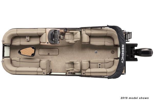 2020 Regency boat for sale, model of the boat is 230 DL3 & Image # 2 of 4