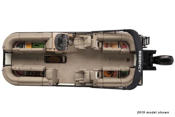 2020 Regency boat for sale, model of the boat is 230 DL3 & Image # 3 of 4