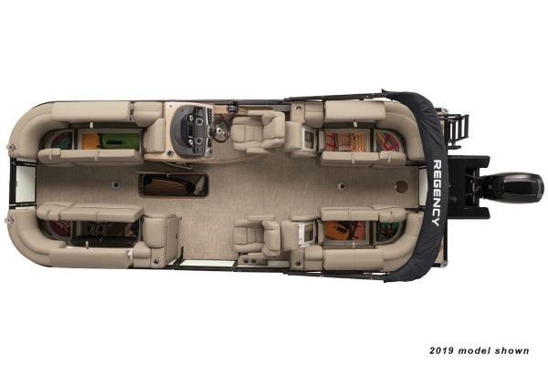 2020 Regency boat for sale, model of the boat is 230 DL3 & Image # 4 of 4
