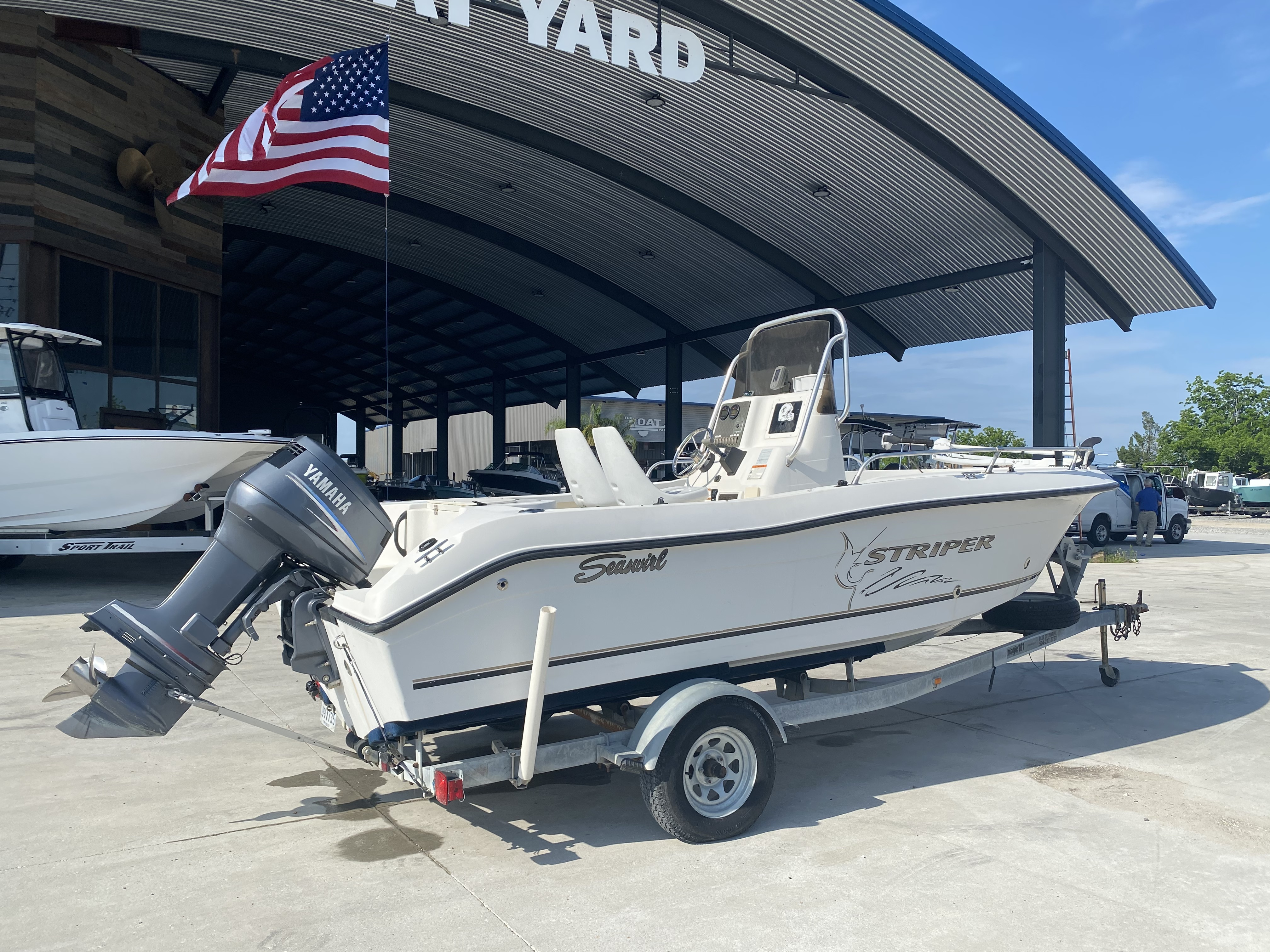 2004 Seaswirl boat for sale, model of the boat is 186 Striper & Image # 10 of 12