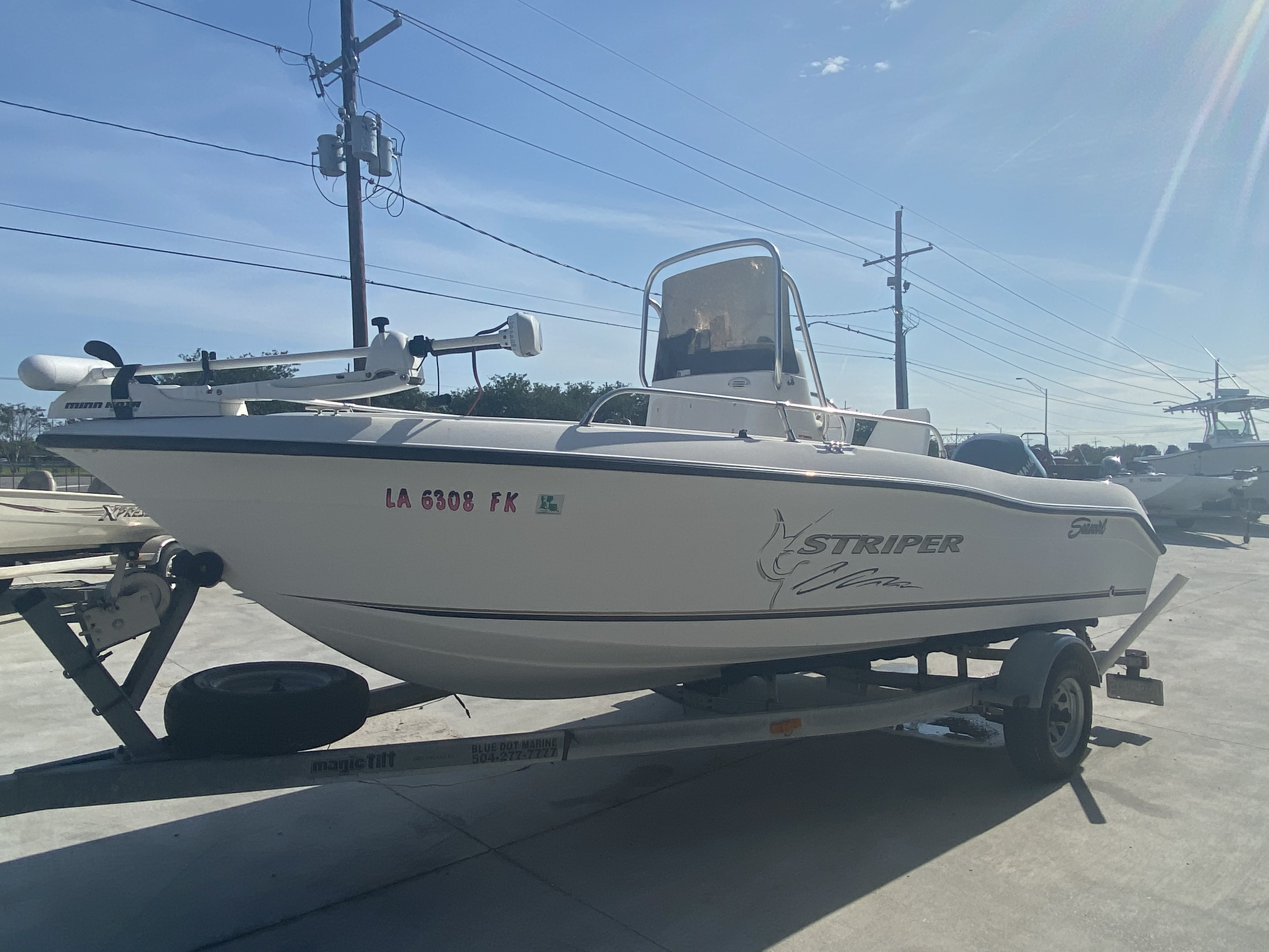 2004 Seaswirl boat for sale, model of the boat is 186 Striper & Image # 2 of 12