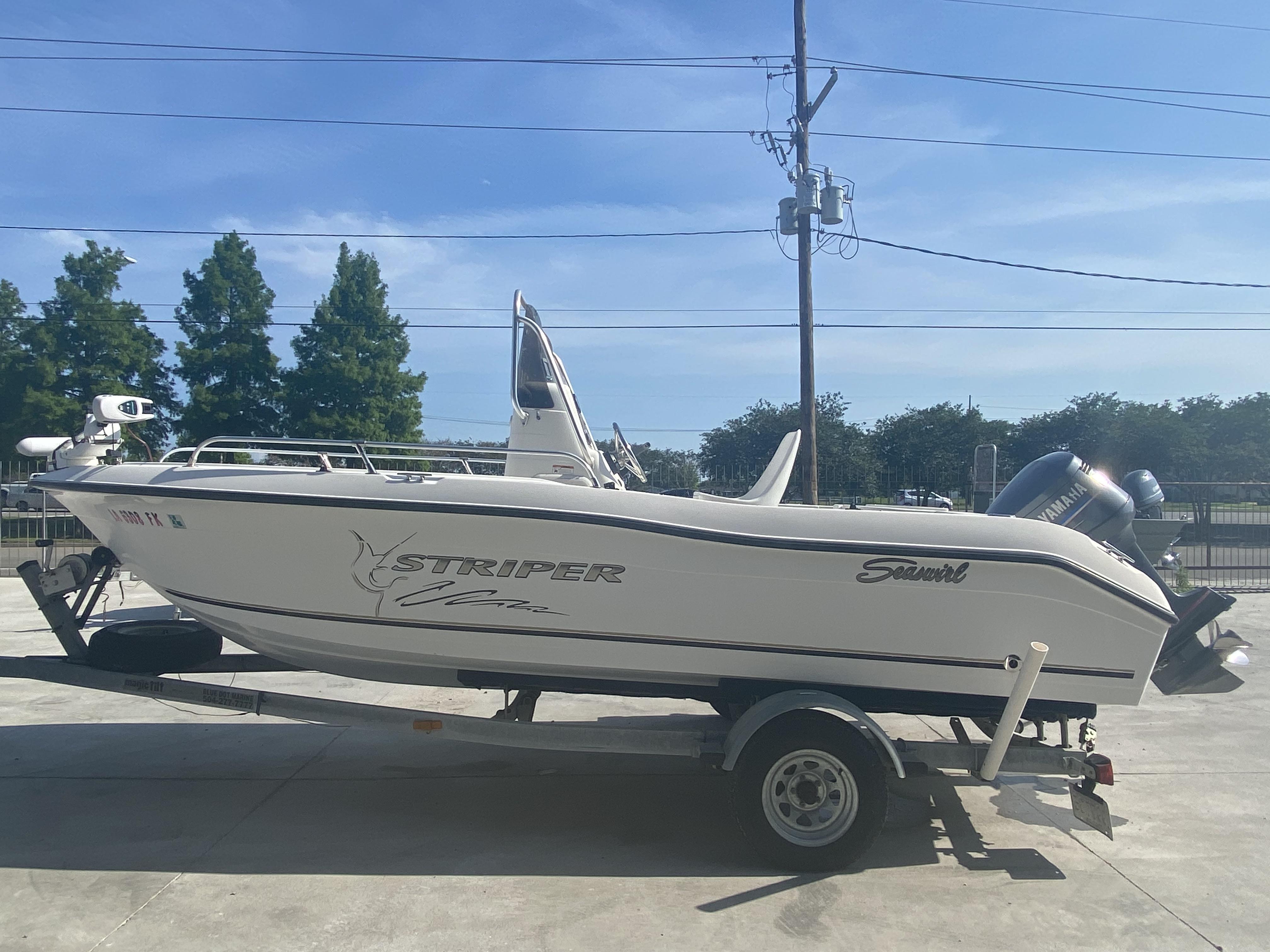 2004 Seaswirl boat for sale, model of the boat is 186 Striper & Image # 4 of 12