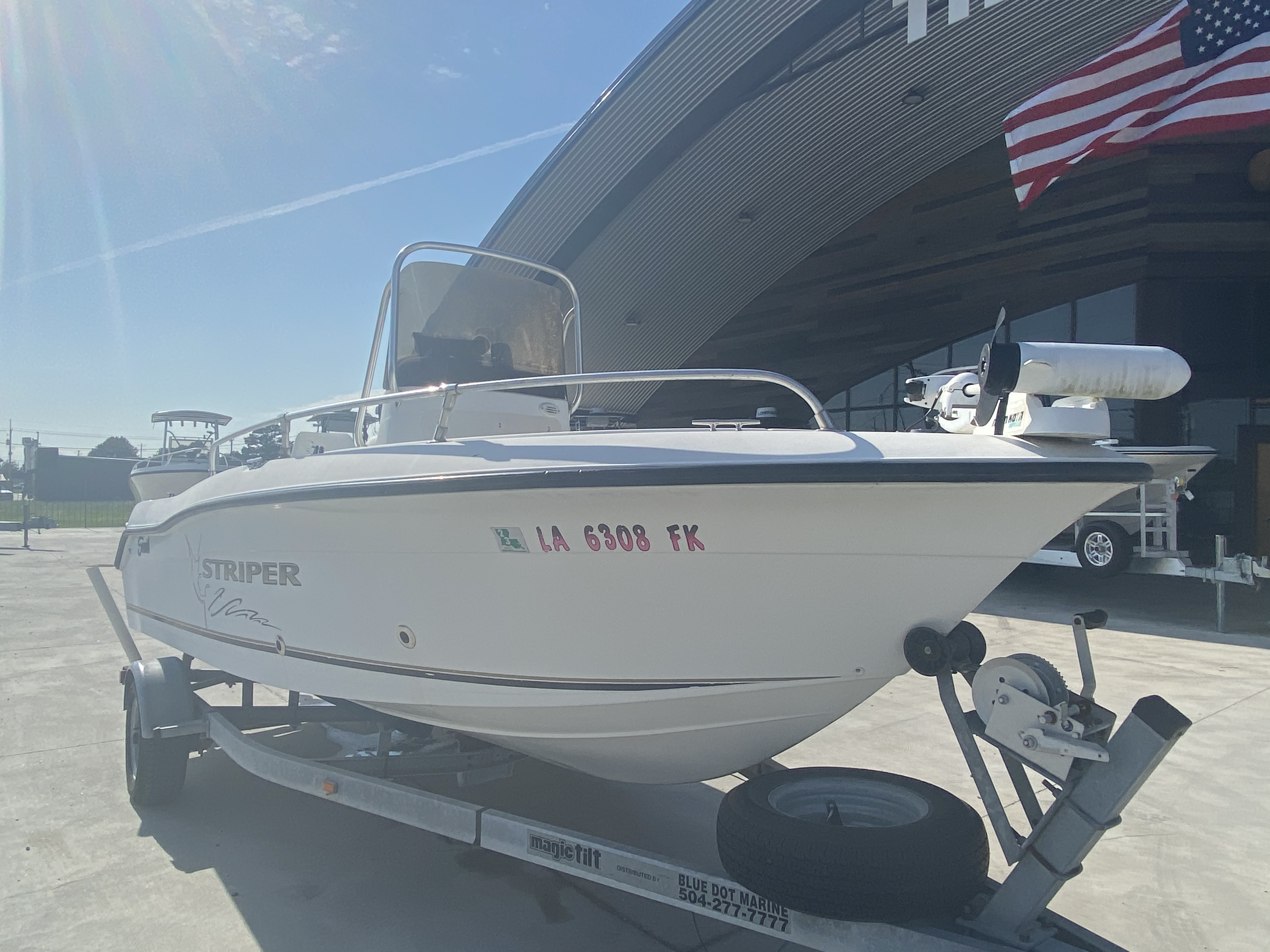2004 Seaswirl boat for sale, model of the boat is 186 Striper & Image # 5 of 12