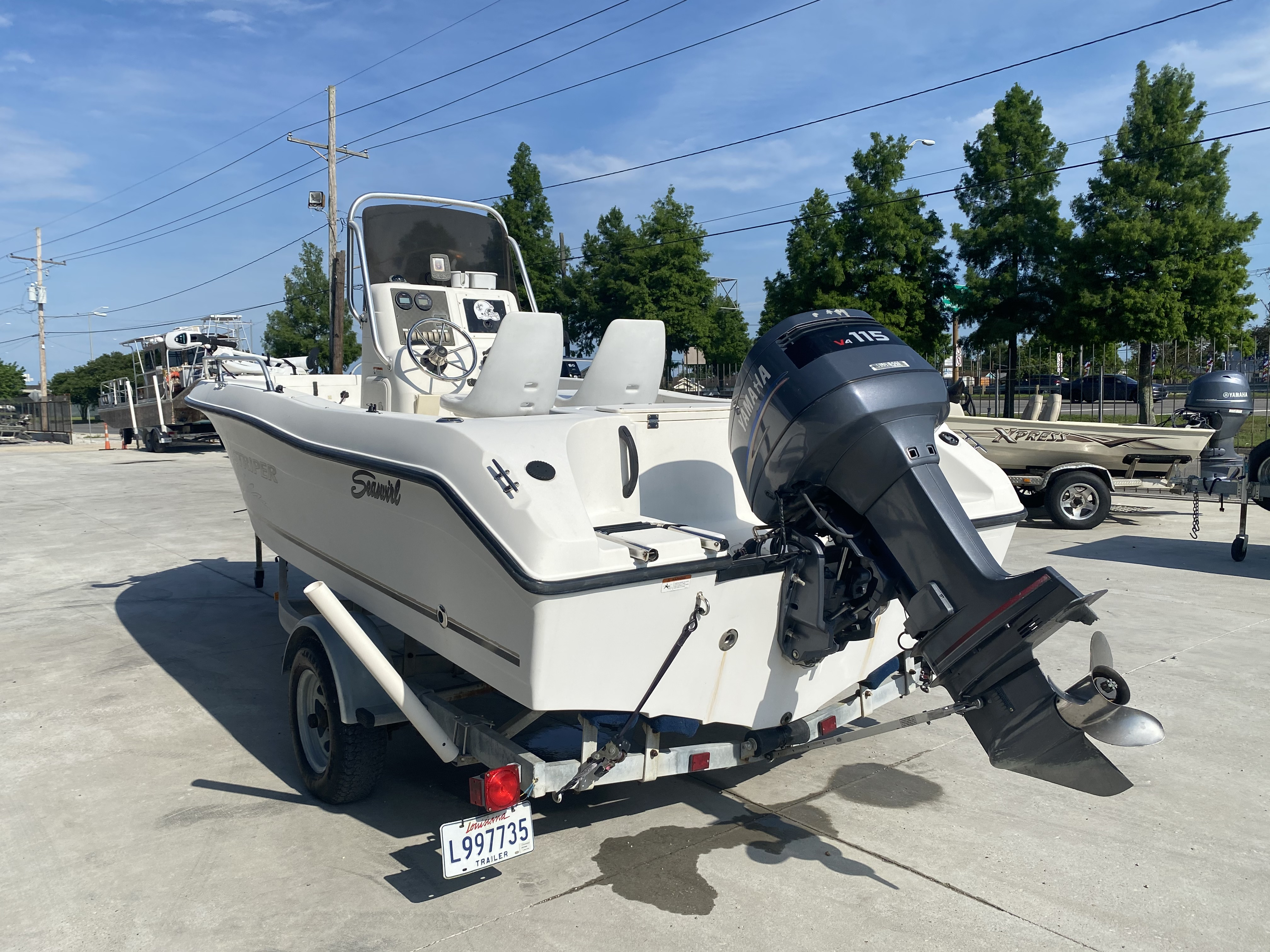 2004 Seaswirl boat for sale, model of the boat is 186 Striper & Image # 9 of 12