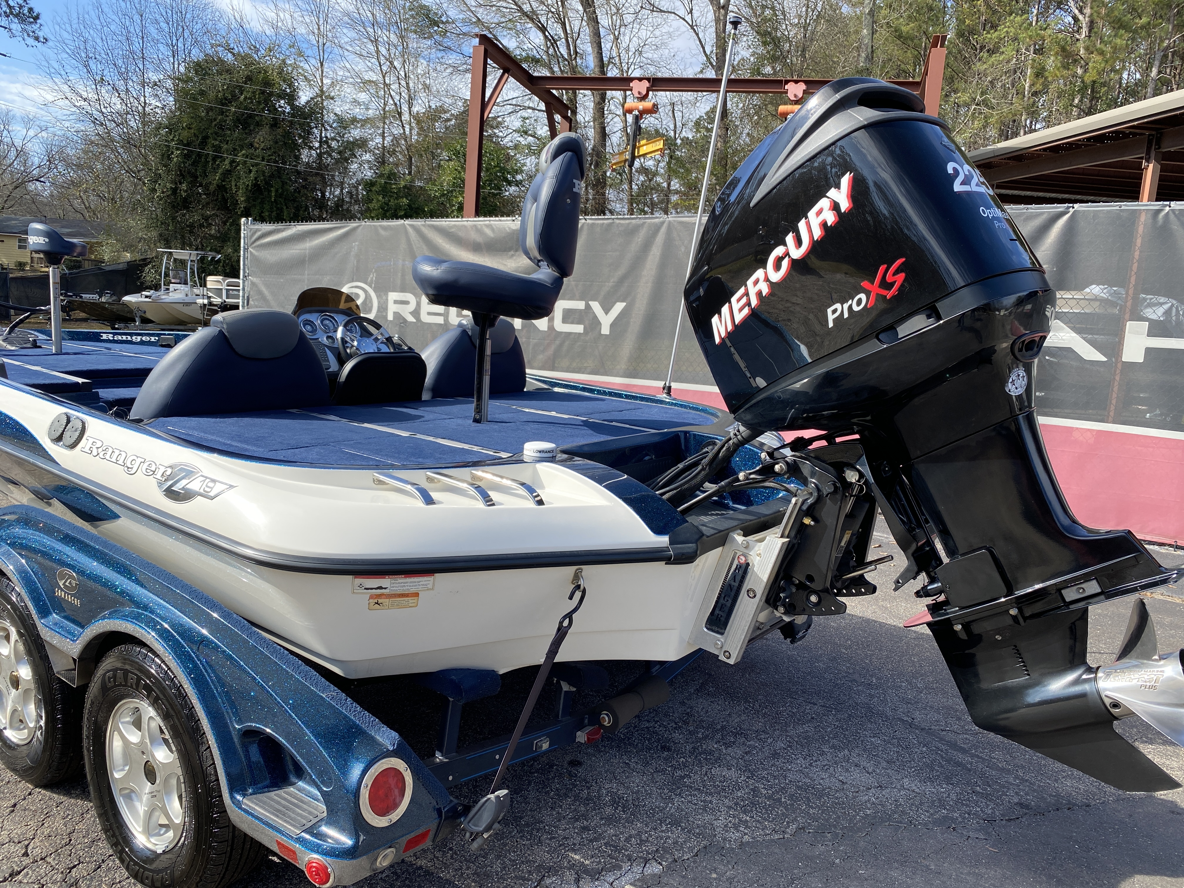 2006 Ranger Boats boat for sale, model of the boat is Z19 w/225hp & Image # 2 of 28
