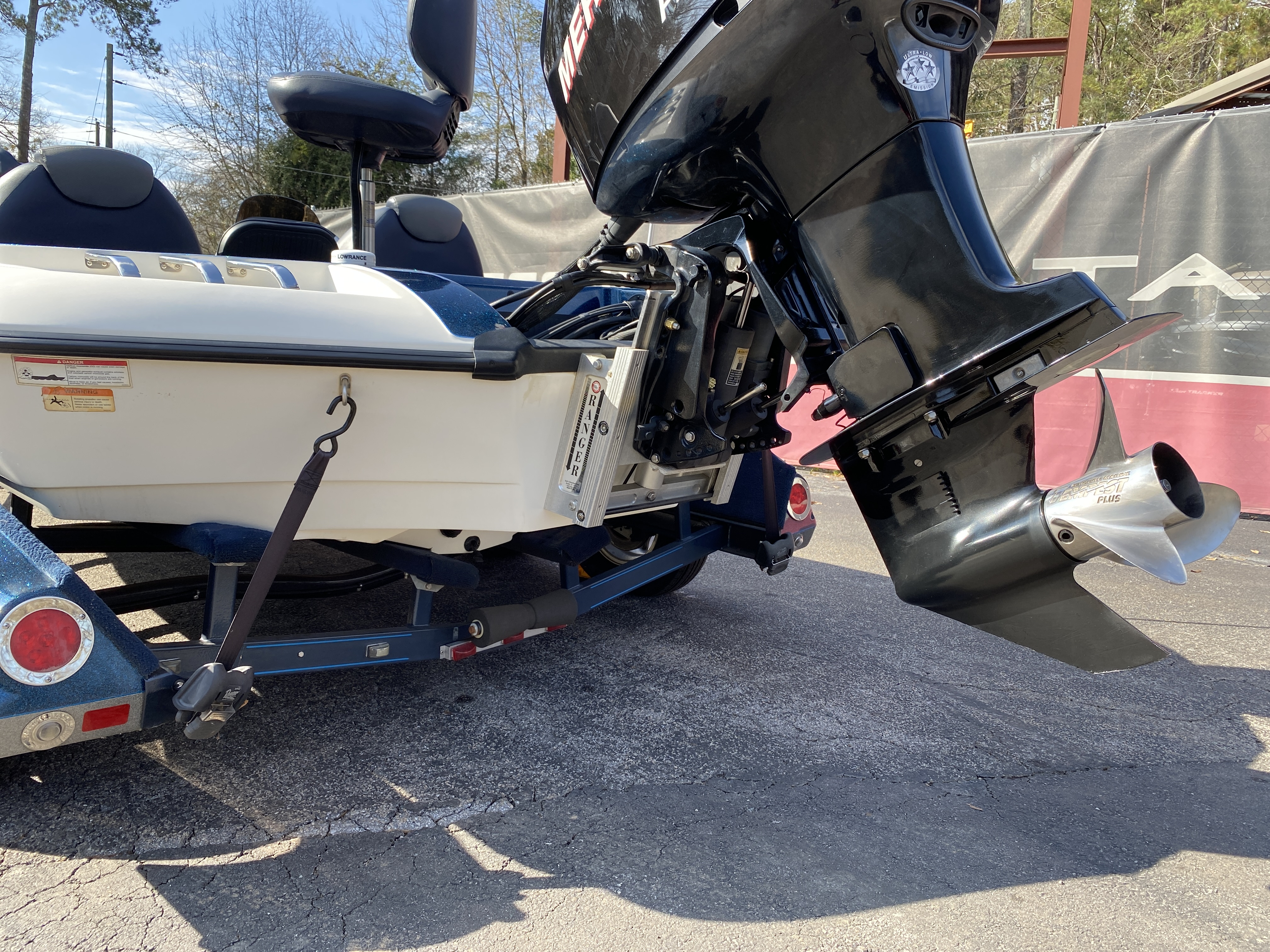 2006 Ranger Boats boat for sale, model of the boat is Z19 w/225hp & Image # 3 of 28