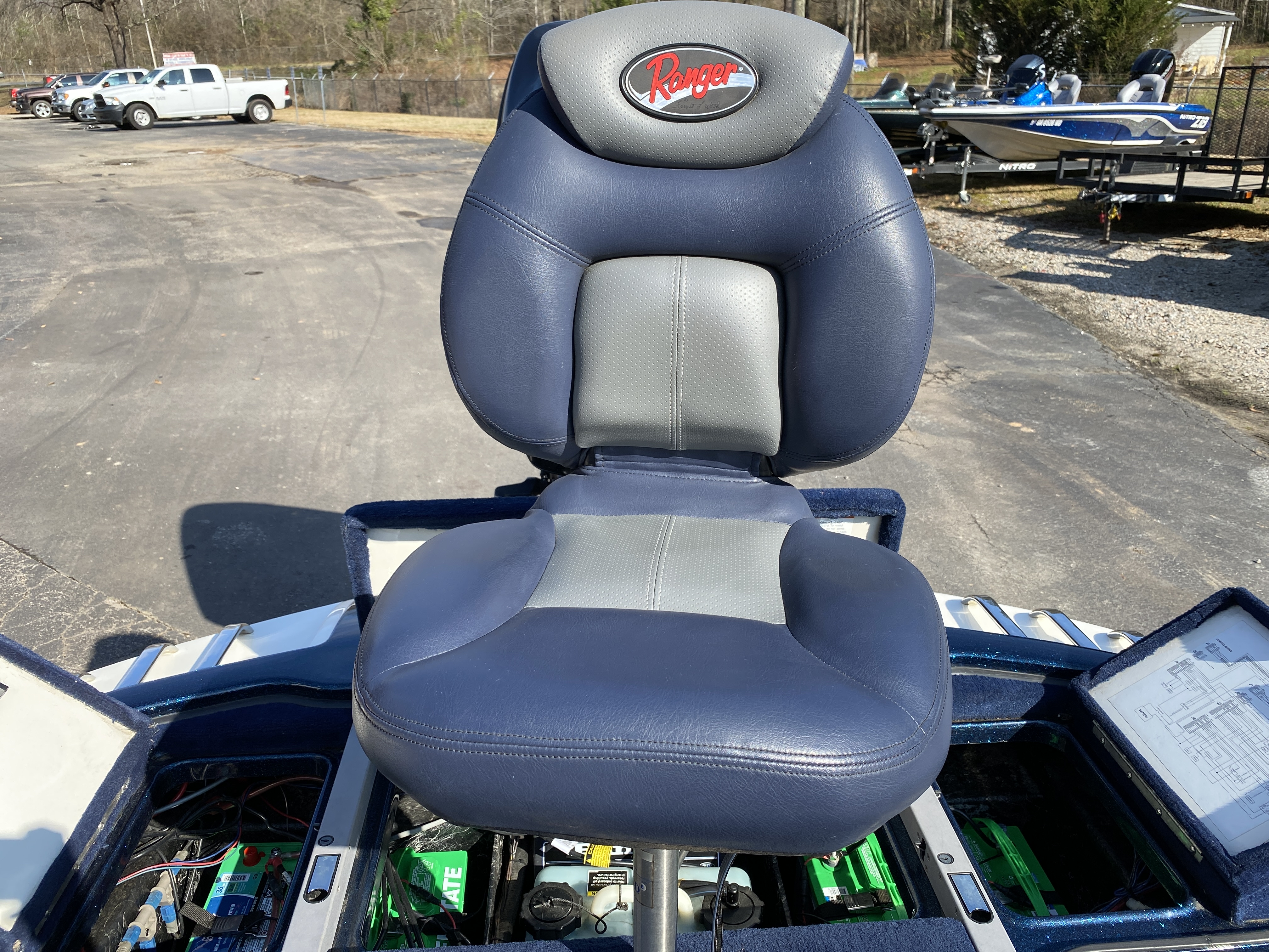 2006 Ranger Boats boat for sale, model of the boat is Z19 w/225hp & Image # 6 of 28