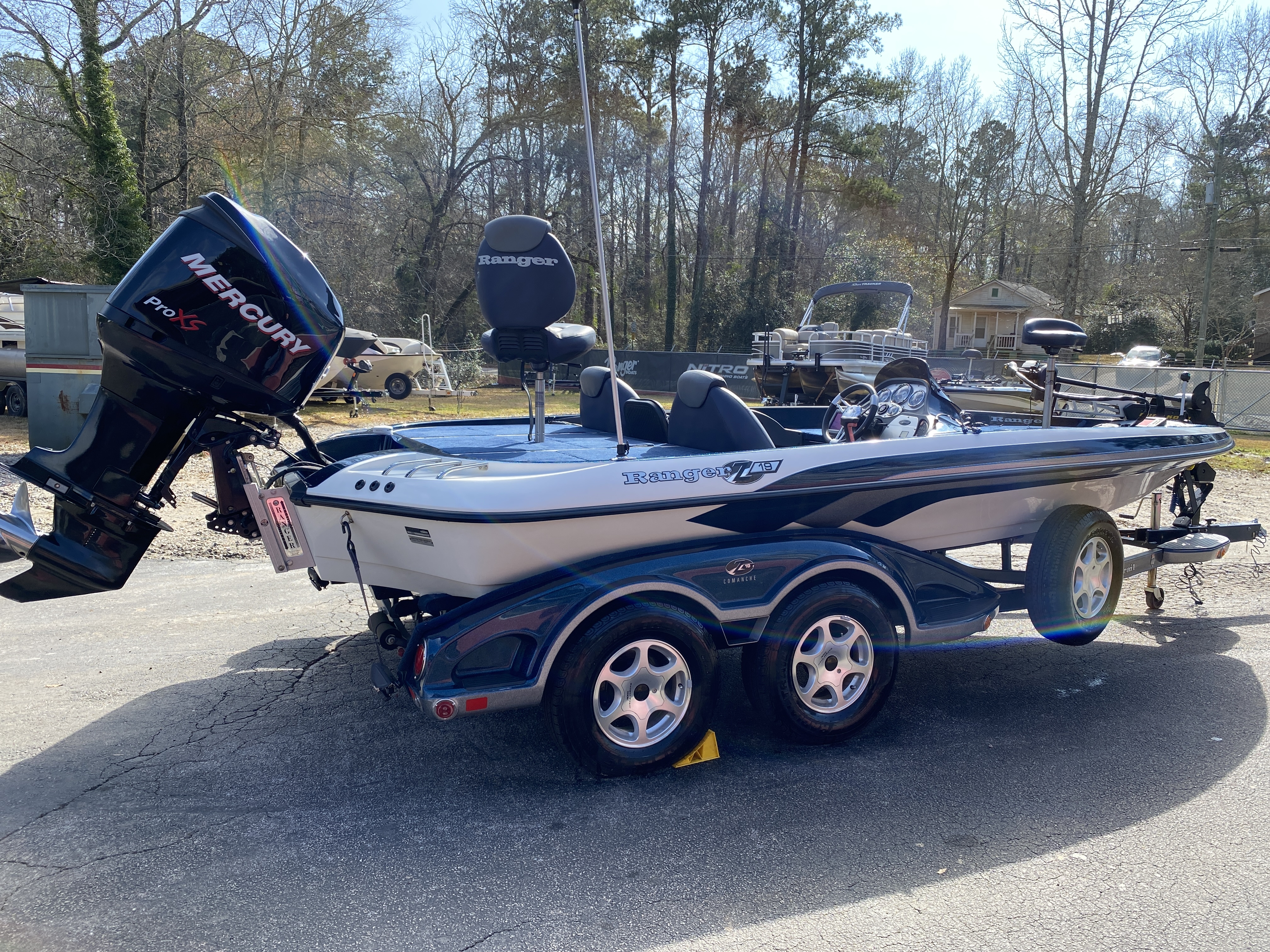 2006 Ranger Boats boat for sale, model of the boat is Z19 w/225hp & Image # 9 of 28