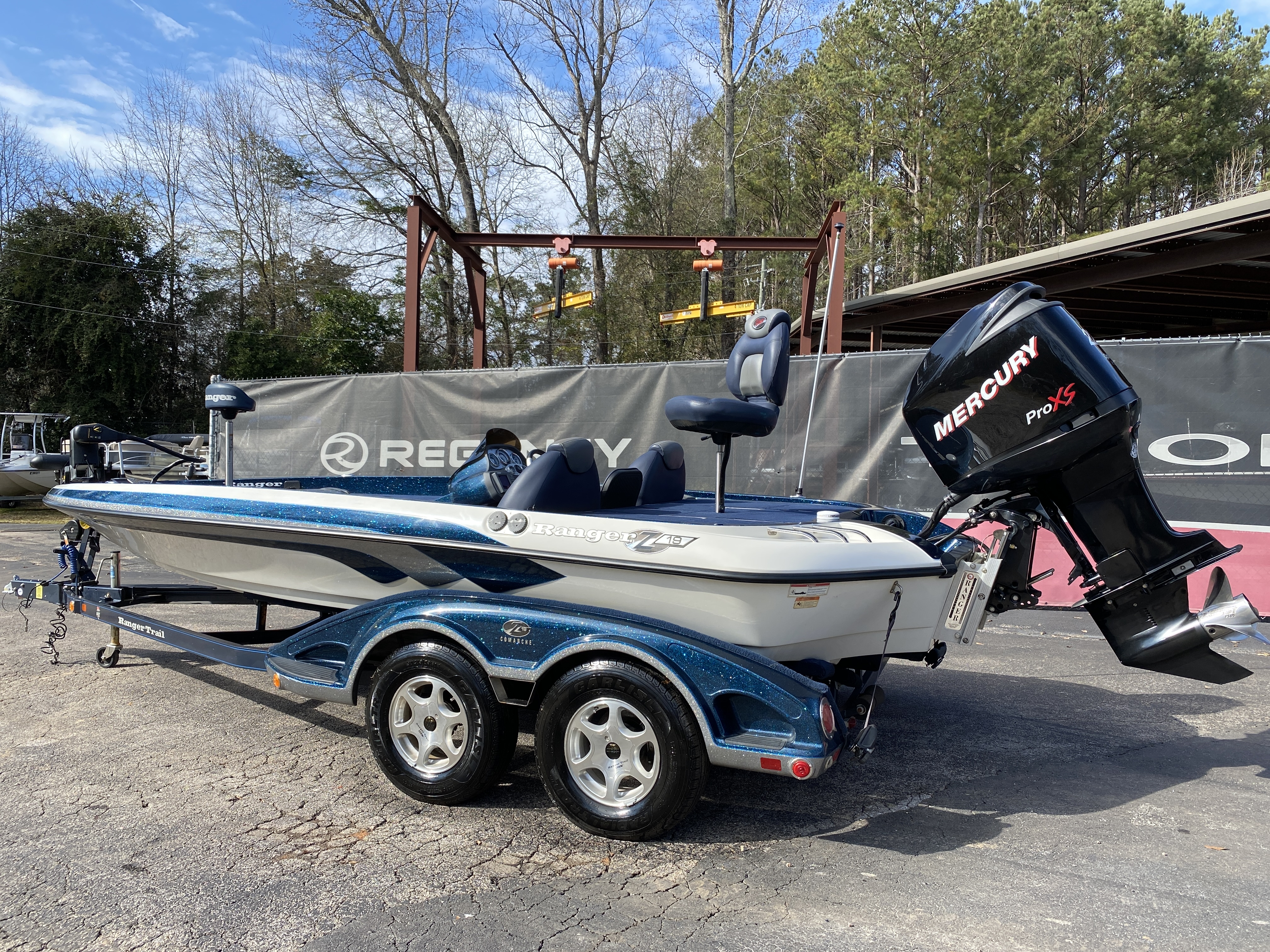 2006 Ranger Boats boat for sale, model of the boat is Z19 w/225hp & Image # 10 of 28