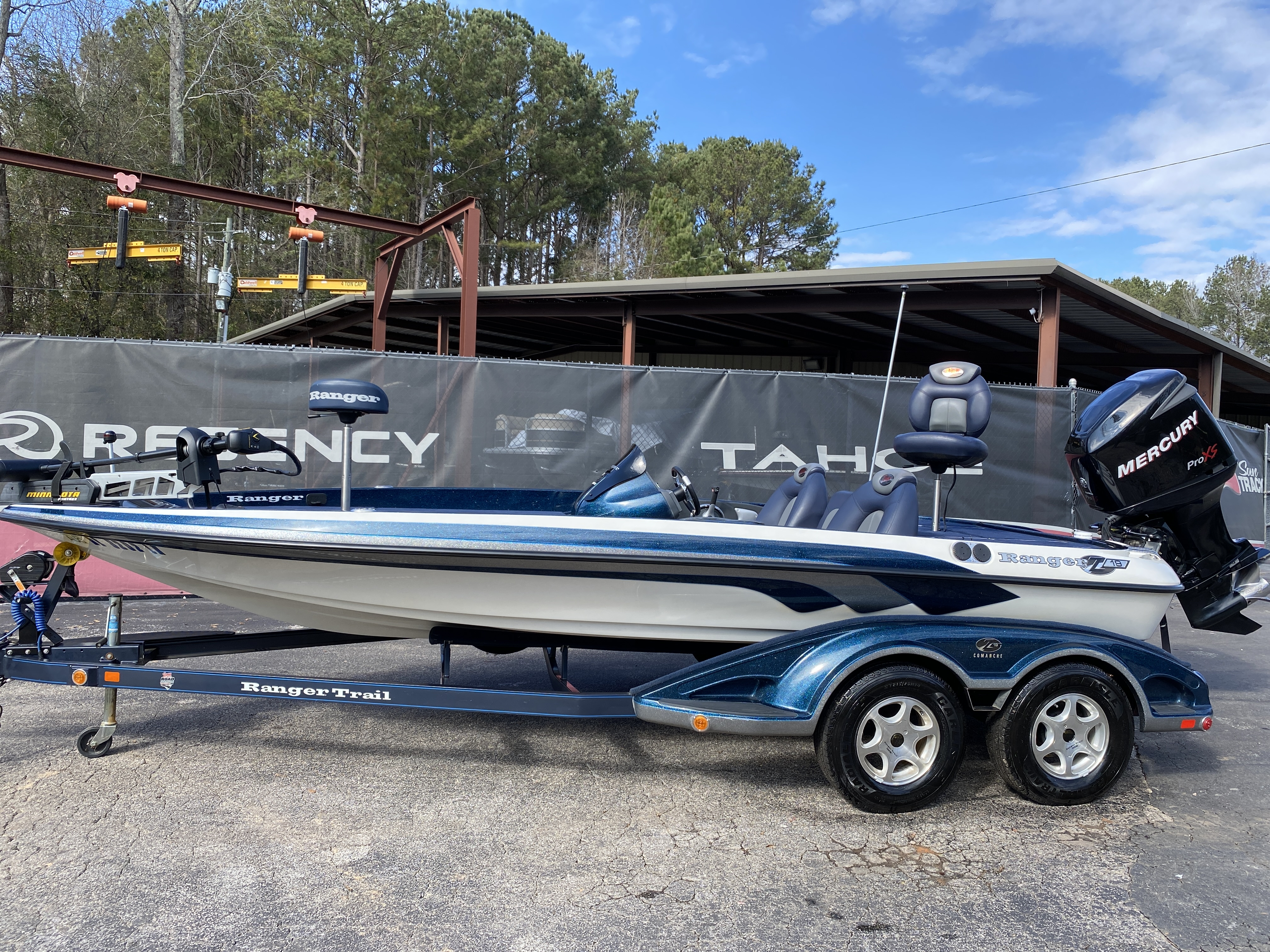 2006 Ranger Boats boat for sale, model of the boat is Z19 w/225hp & Image # 12 of 28