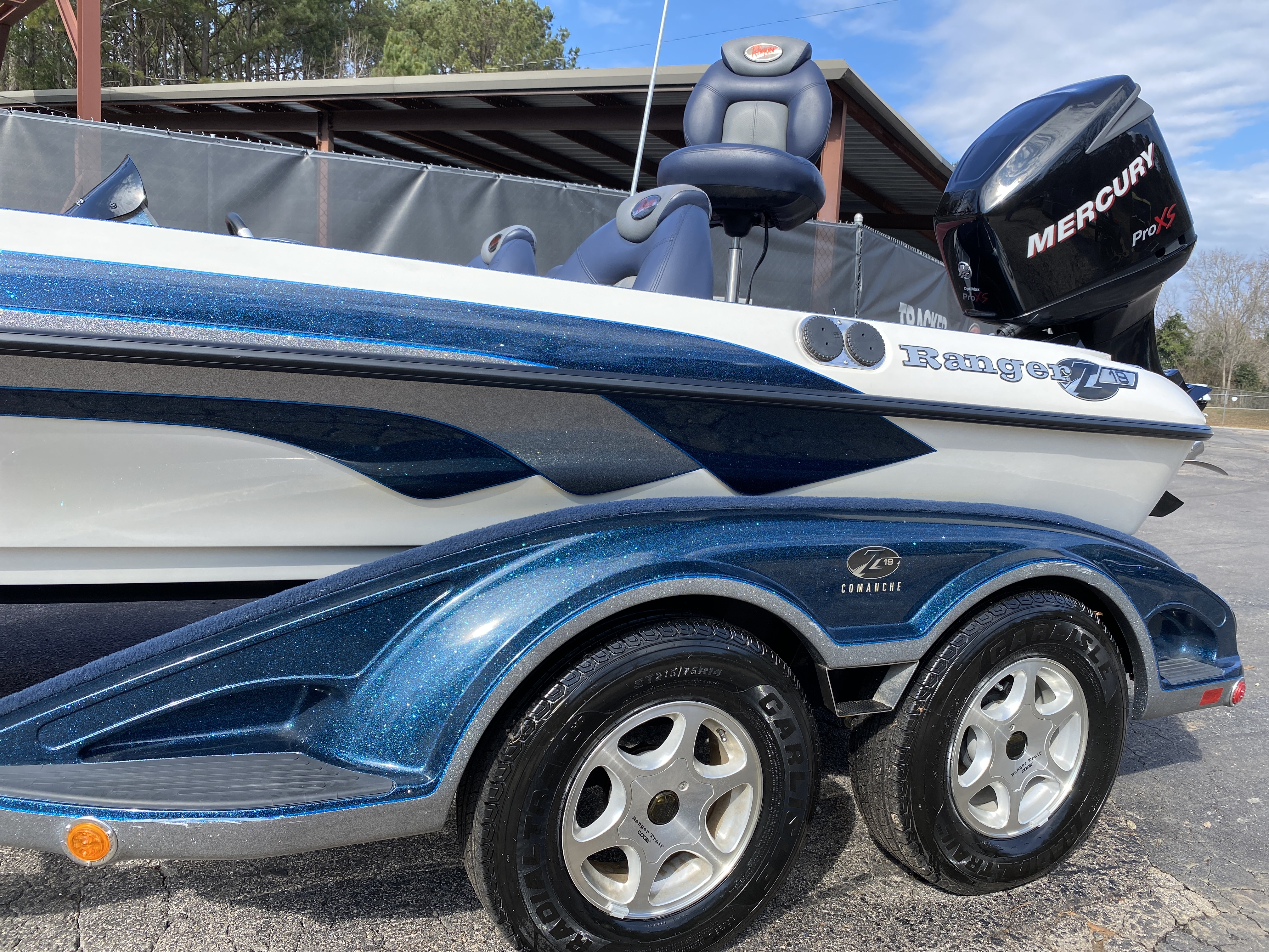2006 Ranger Boats boat for sale, model of the boat is Z19 w/225hp & Image # 19 of 28