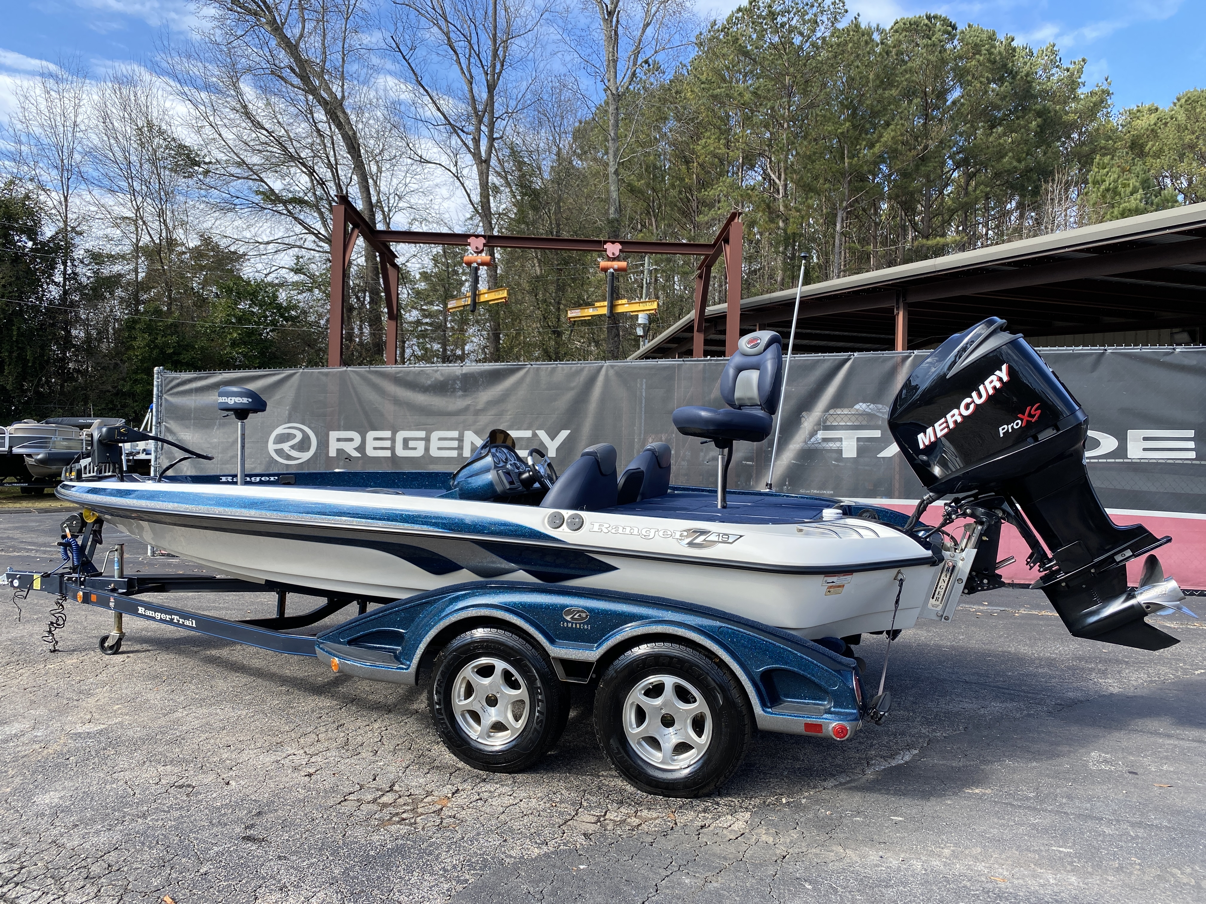 2006 Ranger Boats boat for sale, model of the boat is Z19 w/225hp & Image # 22 of 28