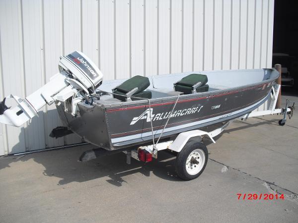 1993 Alumacraft boat for sale, model of the boat is V14 & Image # 2 of 15