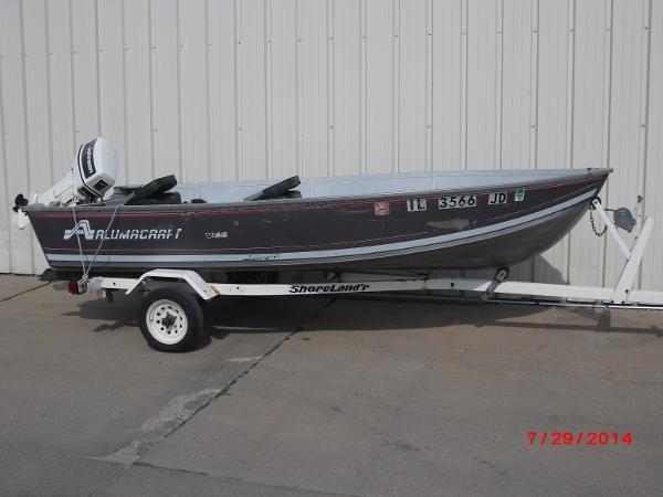 1993 Alumacraft boat for sale, model of the boat is V14 & Image # 4 of 15