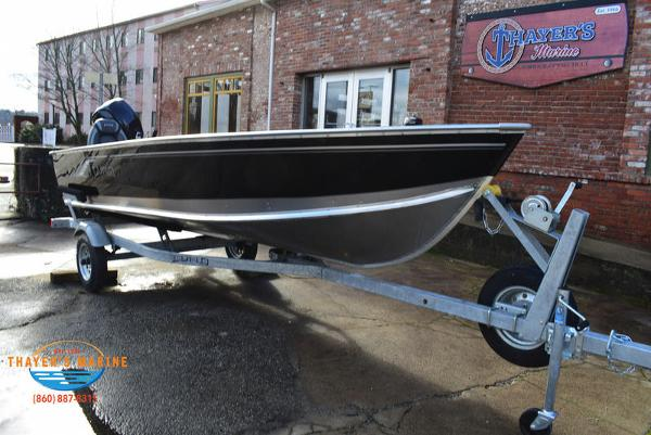 2021 Lund boat for sale, model of the boat is 1600 Fury Tiller & Image # 2 of 40