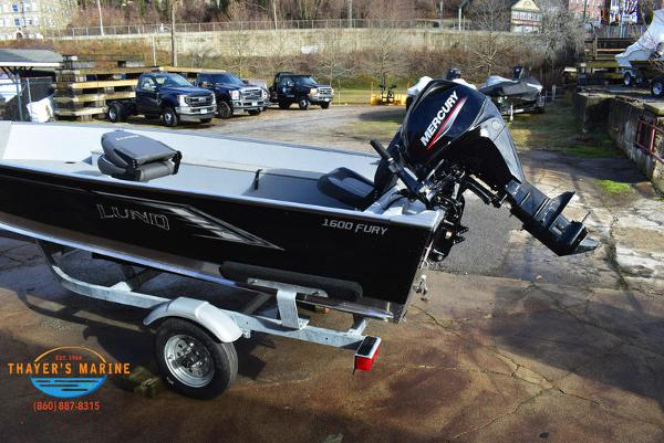 2021 Lund boat for sale, model of the boat is 1600 Fury Tiller & Image # 7 of 40