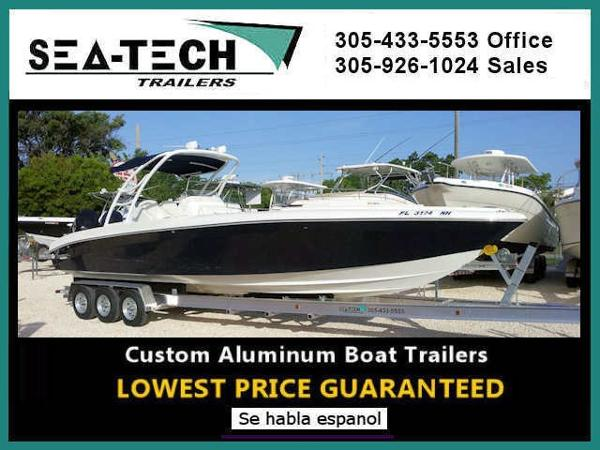 2020 SEA TECH Triple Axle Aluminum