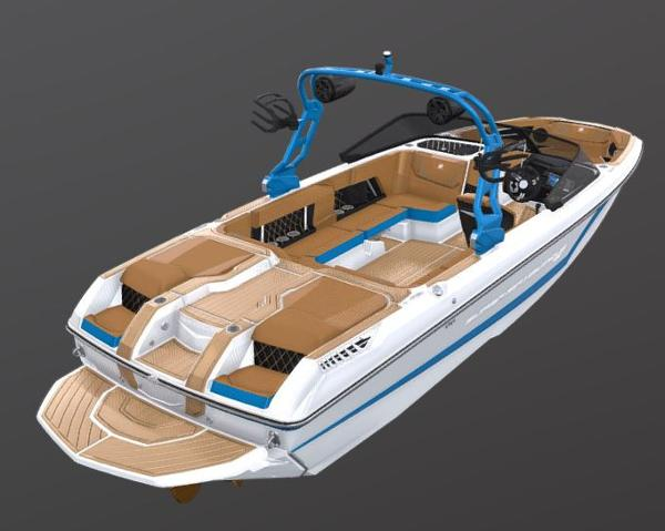 2021 Nautique boat for sale, model of the boat is Super Air Nautique GS22 & Image # 62 of 65