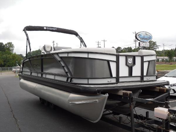 2021 Godfrey Pontoon boat for sale, model of the boat is Monaco 235 SFL GTP 27 in. & Image # 6 of 30