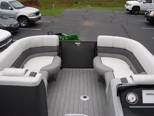 2021 Godfrey Pontoon boat for sale, model of the boat is Monaco 235 SFL GTP 27 in. & Image # 9 of 30