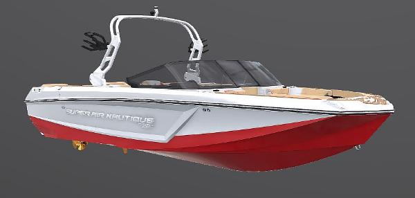 2021 Nautique boat for sale, model of the boat is Super Air Nautique GS24 & Image # 62 of 65