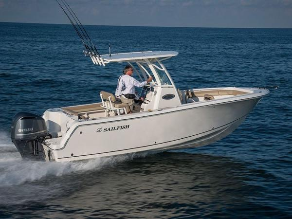 2021 Sailfish boat for sale, model of the boat is 241 CC & Image # 1 of 22