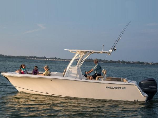 2021 Sailfish boat for sale, model of the boat is 241 CC & Image # 11 of 22