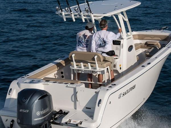 2021 Sailfish boat for sale, model of the boat is 241 CC & Image # 13 of 22