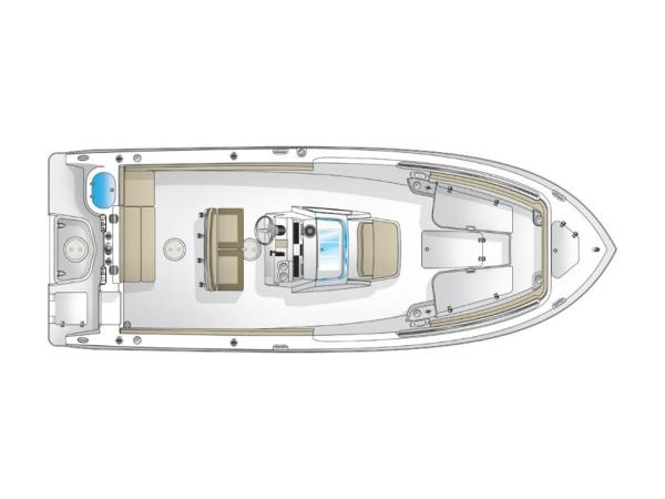 2021 Sailfish boat for sale, model of the boat is 241 CC & Image # 17 of 22