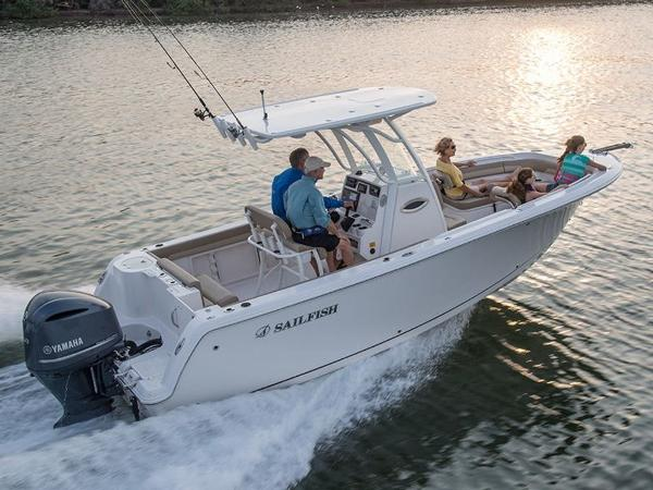 2021 Sailfish boat for sale, model of the boat is 241 CC & Image # 18 of 22