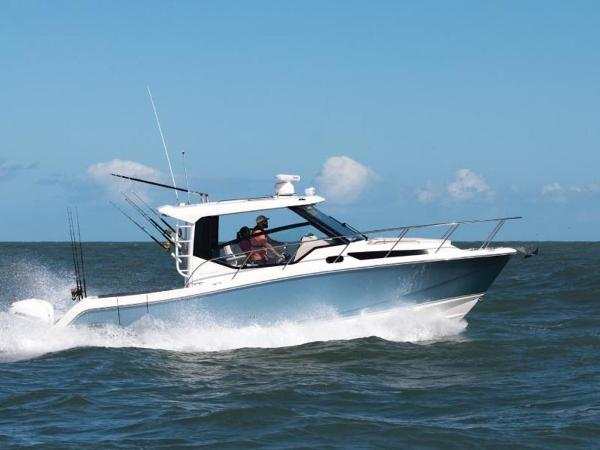 2021 Boston Whaler boat for sale, model of the boat is 325 Conquest & Image # 4 of 11