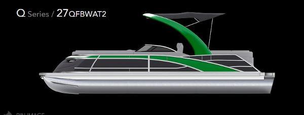 2022 BENNINGTON 27 QFBWAx2