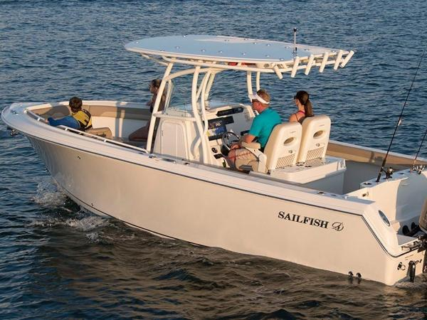 2021 Sailfish boat for sale, model of the boat is 270 CC & Image # 9 of 26