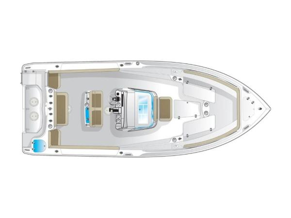 2021 Sailfish boat for sale, model of the boat is 270 CC & Image # 13 of 26