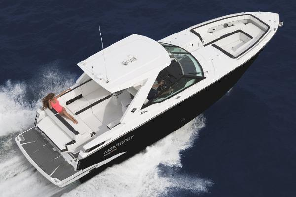 2021 Monterey boat for sale, model of the boat is 378 Super Express & Image # 46 of 53