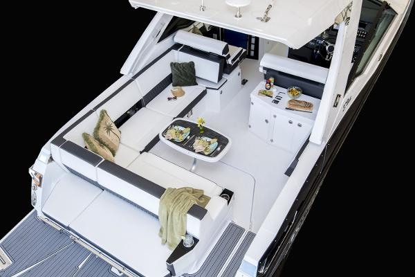 2021 Monterey boat for sale, model of the boat is 378 Super Express & Image # 14 of 53