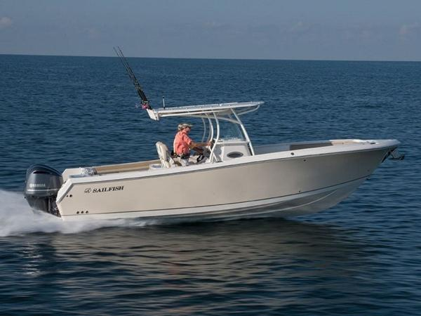 2021 Sailfish boat for sale, model of the boat is 290 CC & Image # 1 of 28
