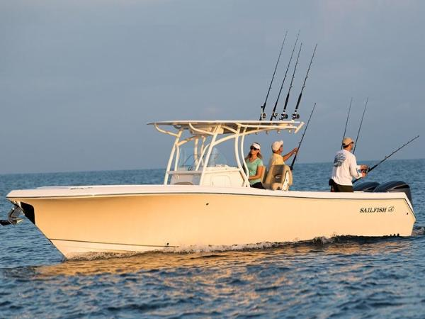 2021 Sailfish boat for sale, model of the boat is 290 CC & Image # 2 of 28